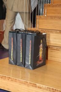 Tasjes met leuke inhoud verloot onder de deelnemers
