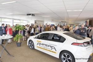 De elektrische Opel Ampera als middelpunt