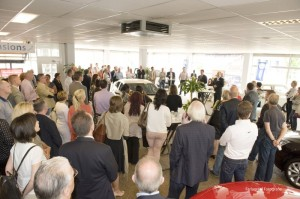 Veel ondernemers waren weer op de Open Coffee Schiedam afgekomen