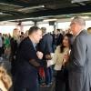Wethouder Peter Groeneweg (Economische Zaken) was ook aanwezig