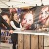 De Dames van Butler verhuur : Huurland Horeca hadden eigen stand met bar meegenomen