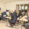 Diverse presentaties : workshops in aparte ruimten, hier Rotary Schiedam