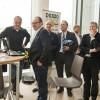 Wethouder Peter Groeneweg (EZ) was een van de bezoekers