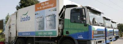 Irado vuilniswagens